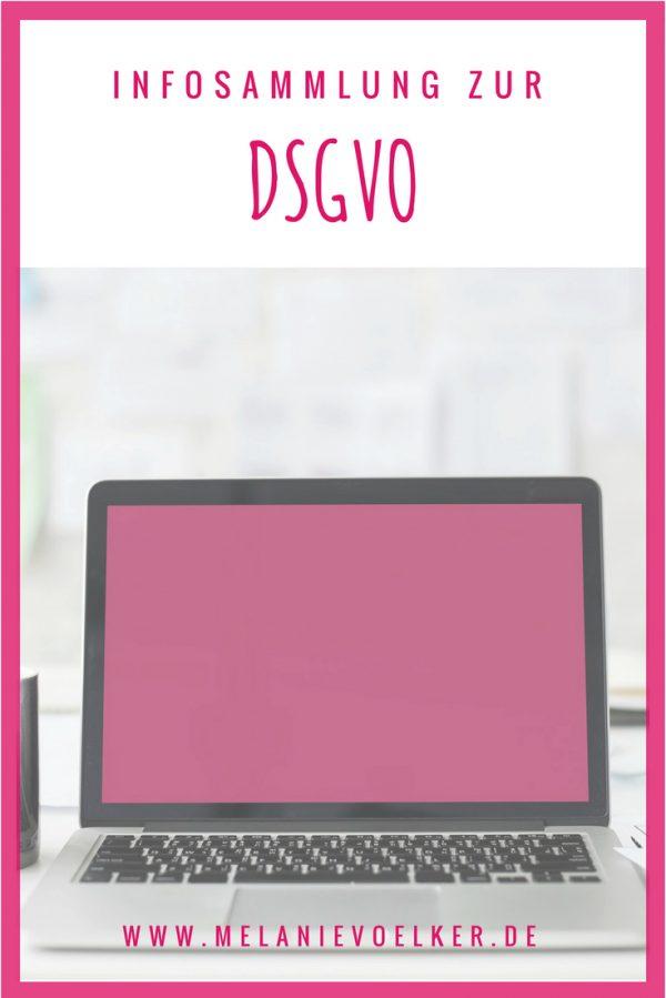 Infosammlung zur DSGVO