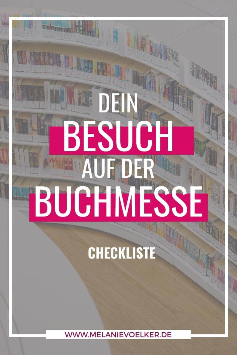 Plane deinen Besuch auf der Buchmesse - Freebie Downloads für Autoren